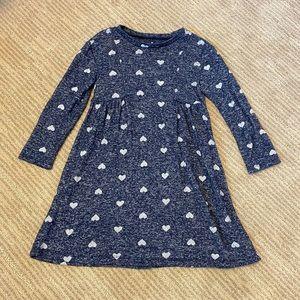 Gap Blue Heart Dress Size 4
